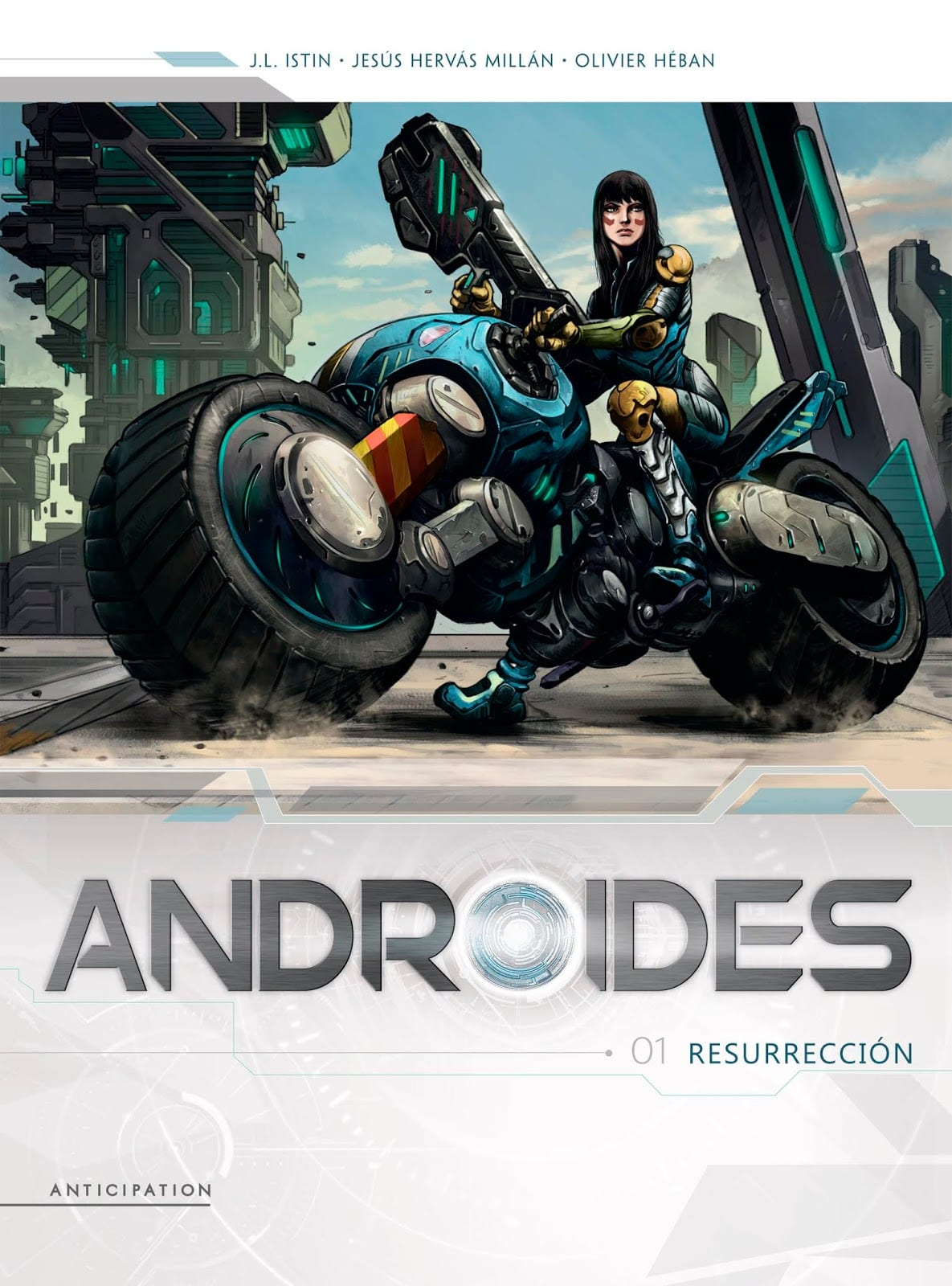 Comic completo Androides