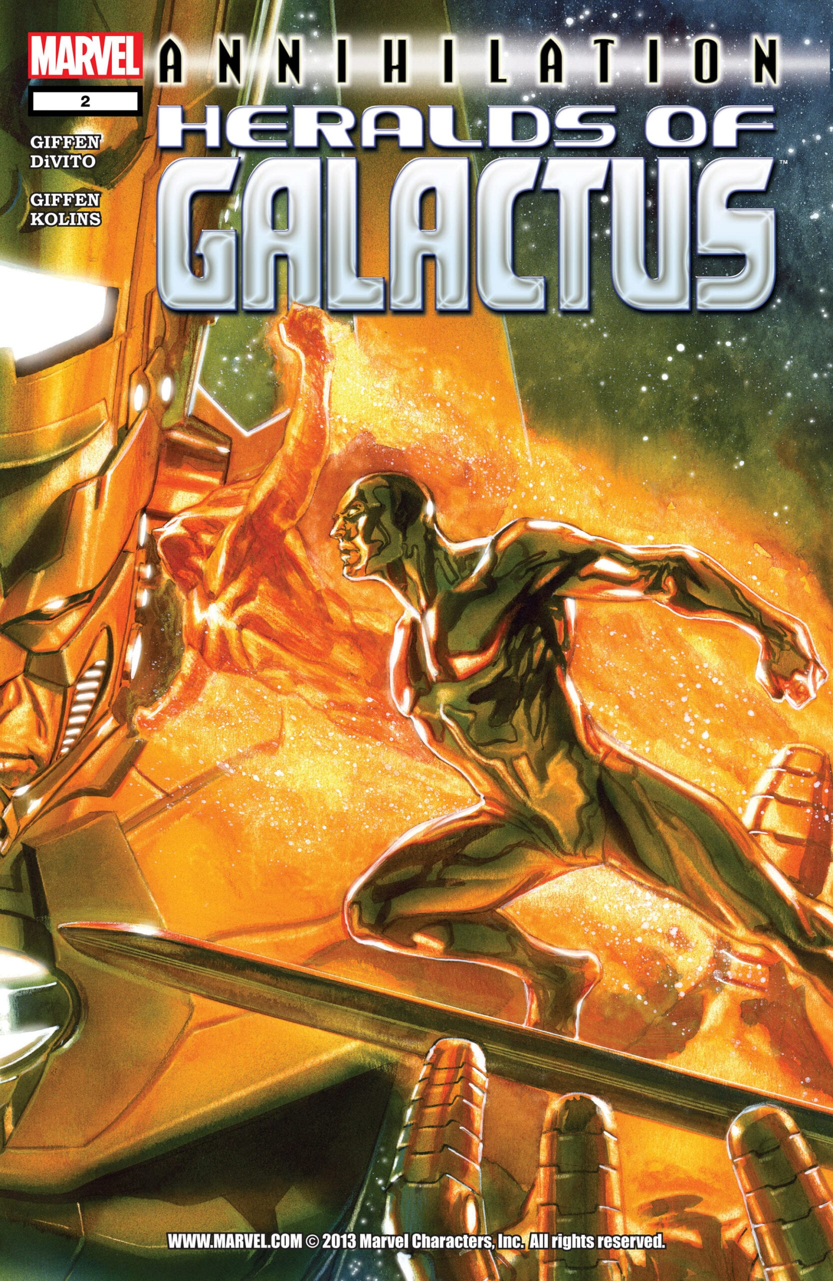 Comic completo Annihilation: Heralds of Galactus