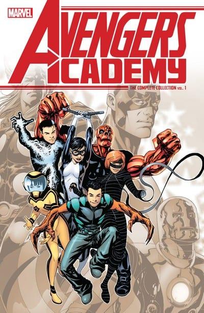 Comic completo Avengers Academy
