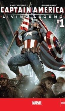 Comic completo Captain America: Living Legends