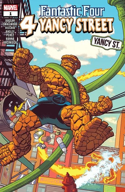 Comic completo Fantastic Four: 4 Yancy Street