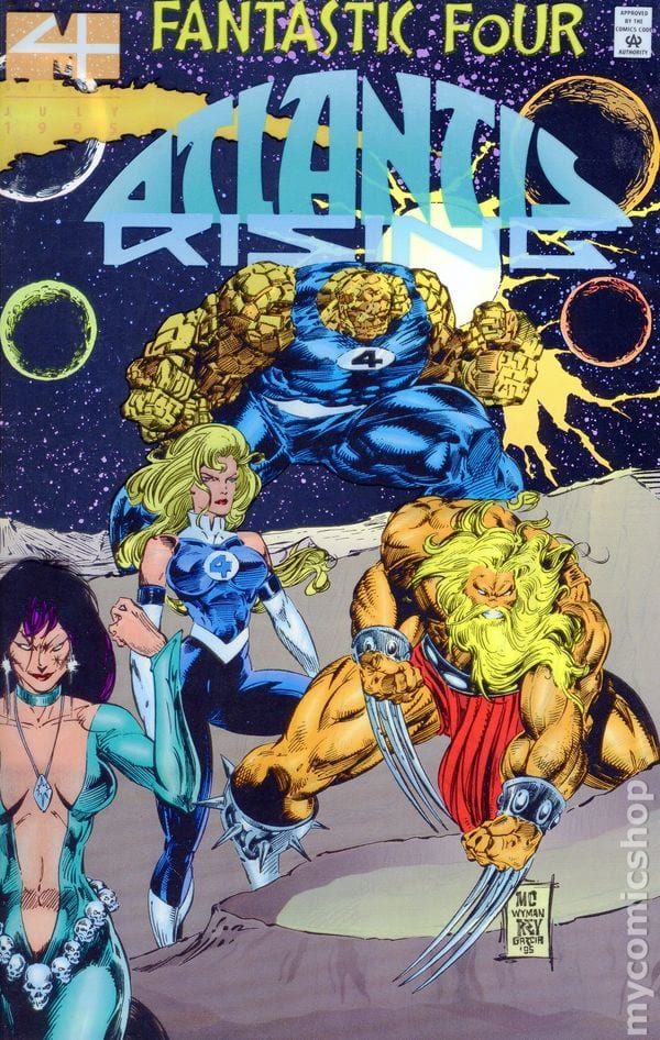 Descargar Fantastic Four Atlantis Rising comic