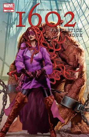 Comic completo Fantastick Four: 1602
