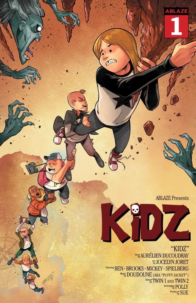 Comic completo Kidz