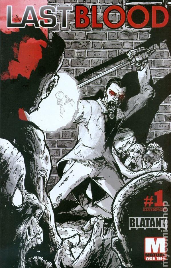 Comic completo Last Blood