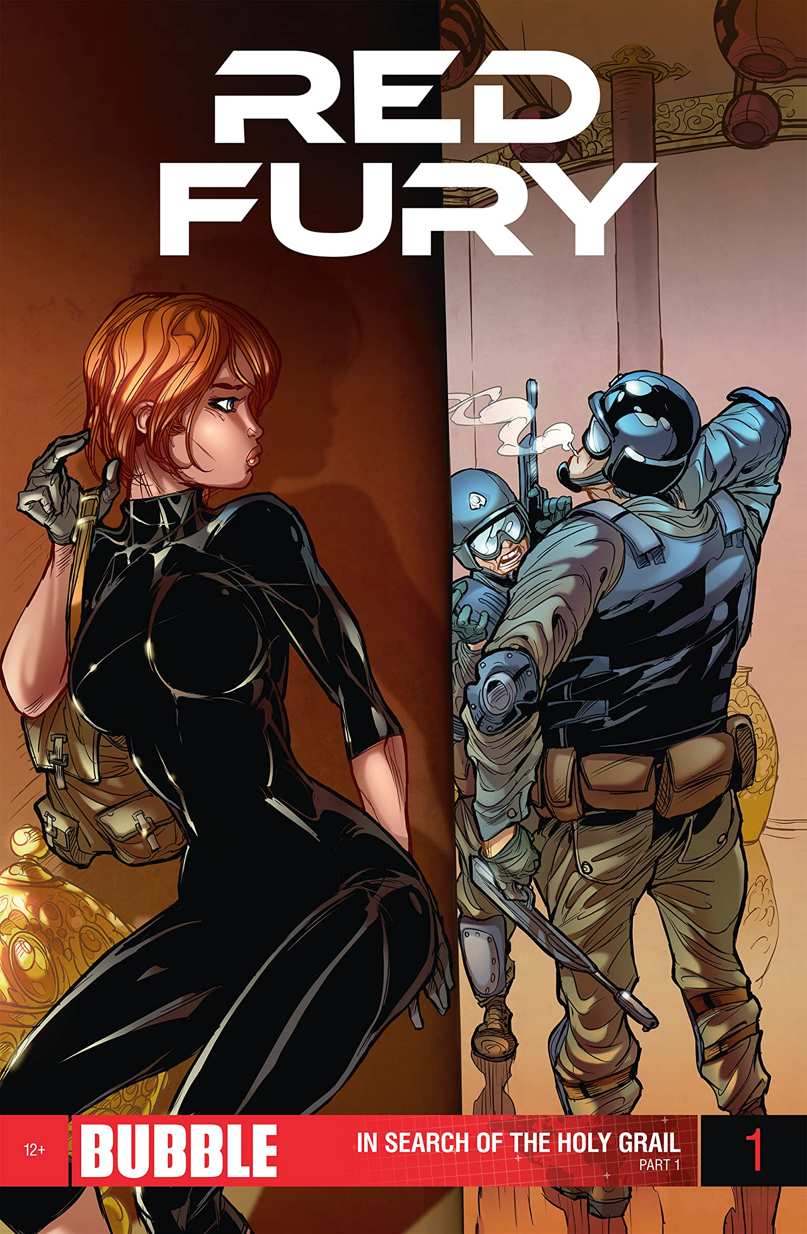 Comic completo Red Fury