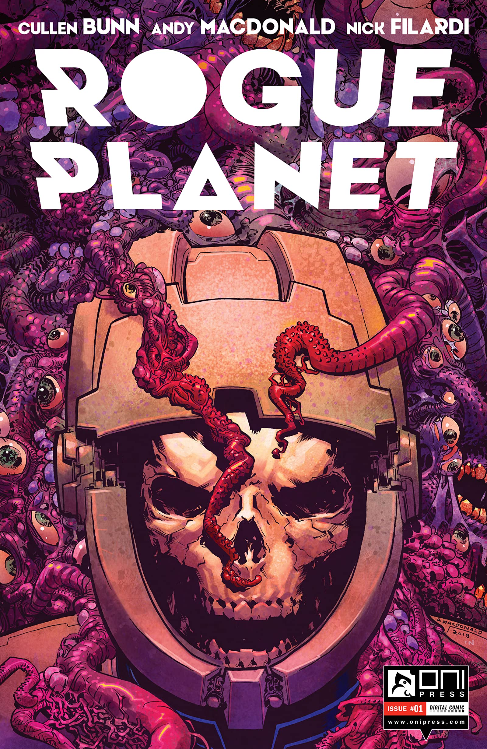 Comic completo Rogue Planet