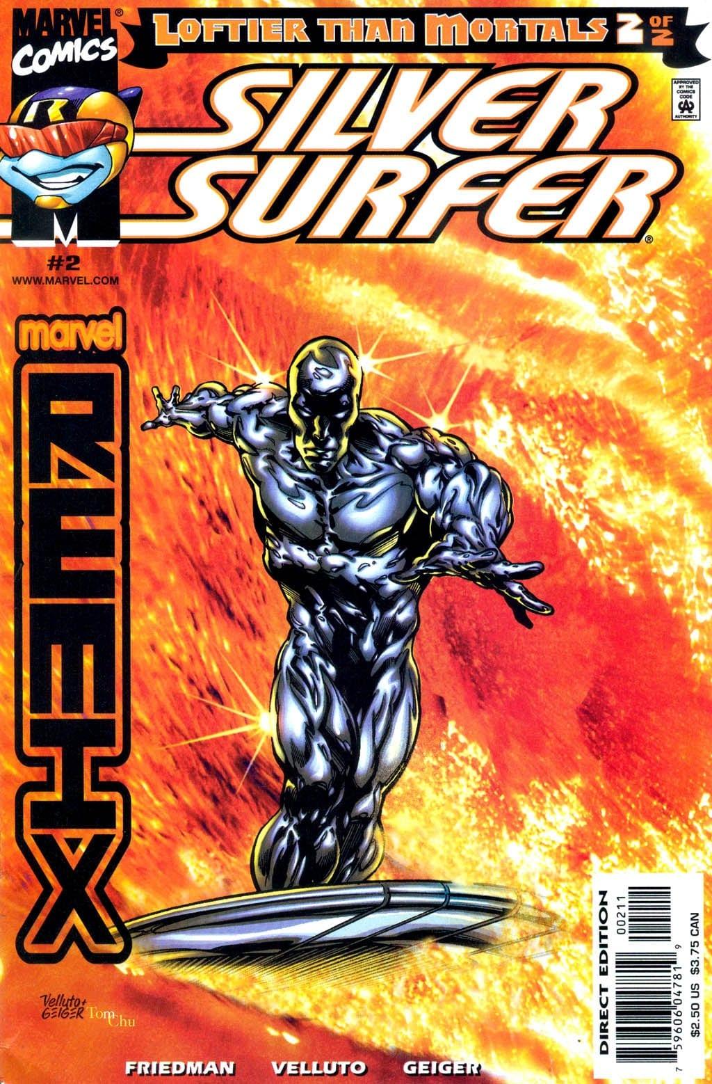 Comic completo Silver Surfer: Loftier Than Mortals