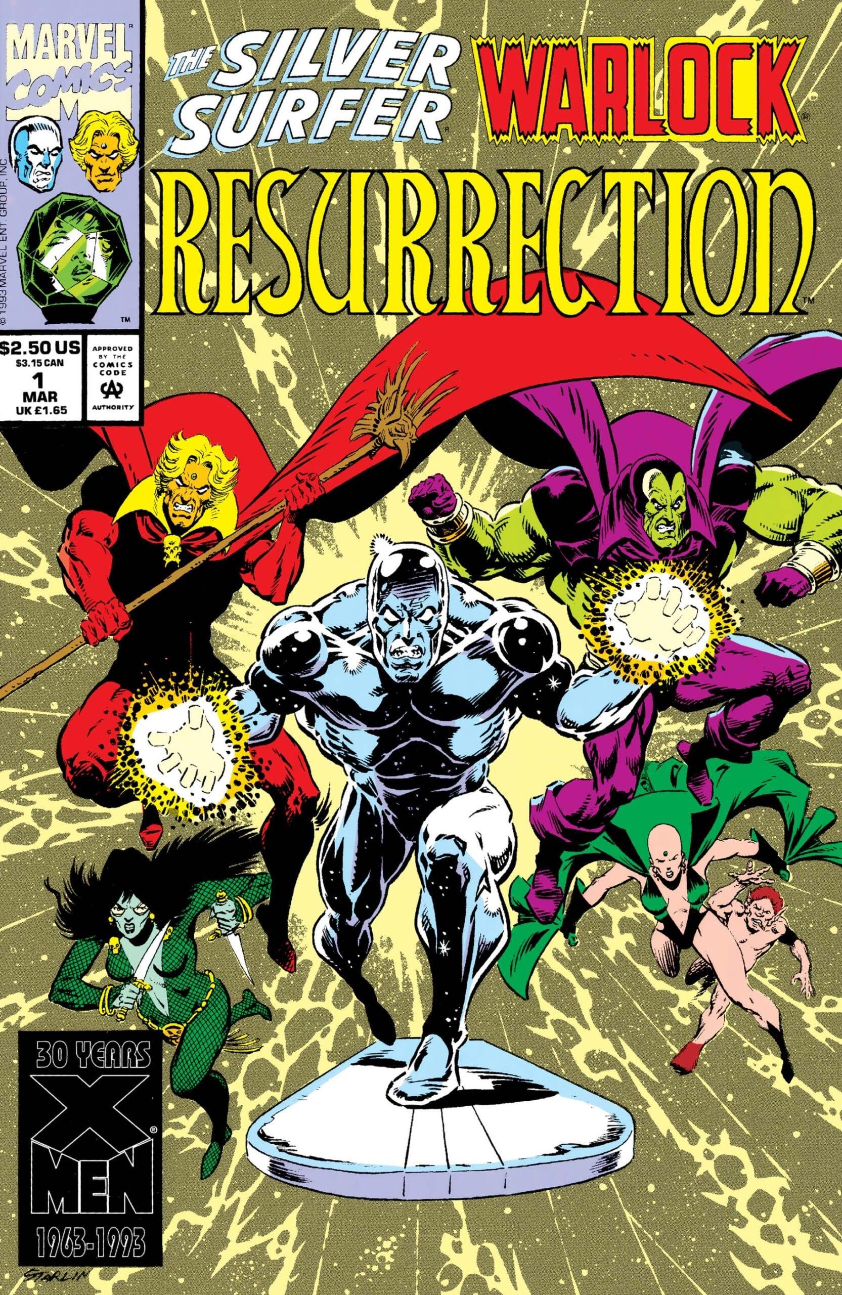 Comic completo Silver Surfer/Warlock: Resurrection