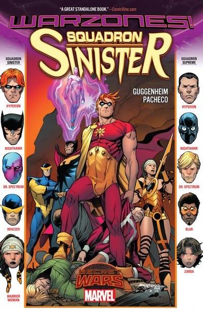 Comic completo Squadron Sinister: Warzones!