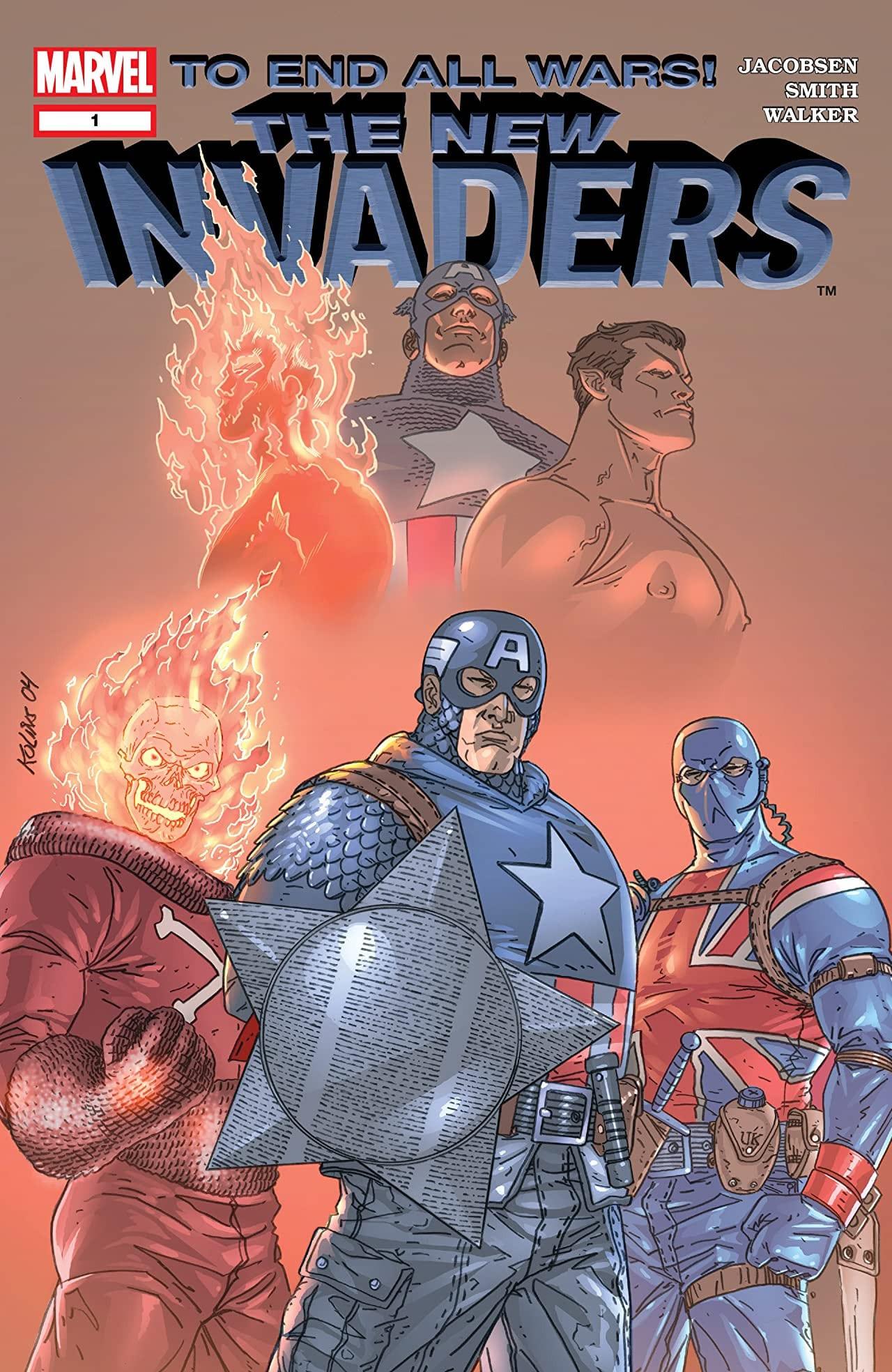 Descargar The New Invaders Volumen 1 comic