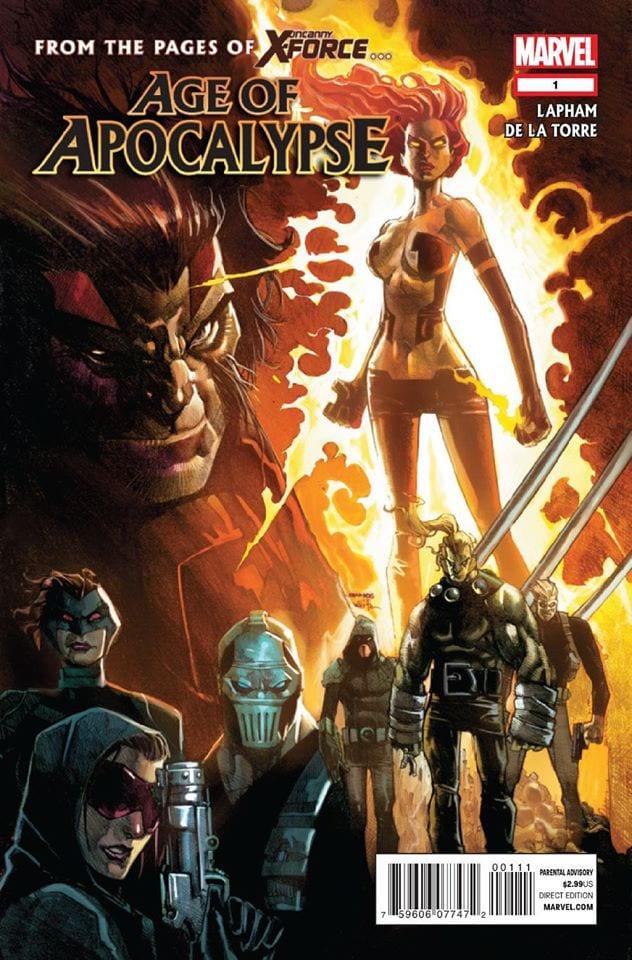Comic completo Age of apocalypse Volumen 2
