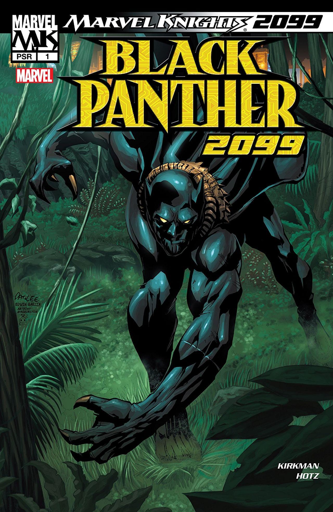 Comic completo Black Panther 2099 Volumen 1