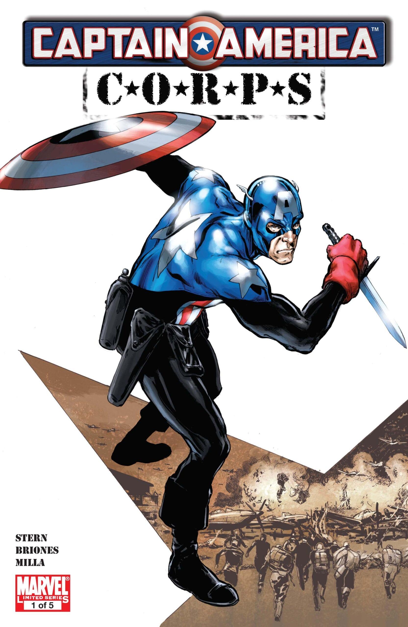 Comic completo Captain America Corps