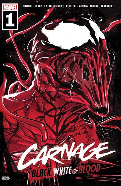 Comic completo Carnage Black White & Blood
