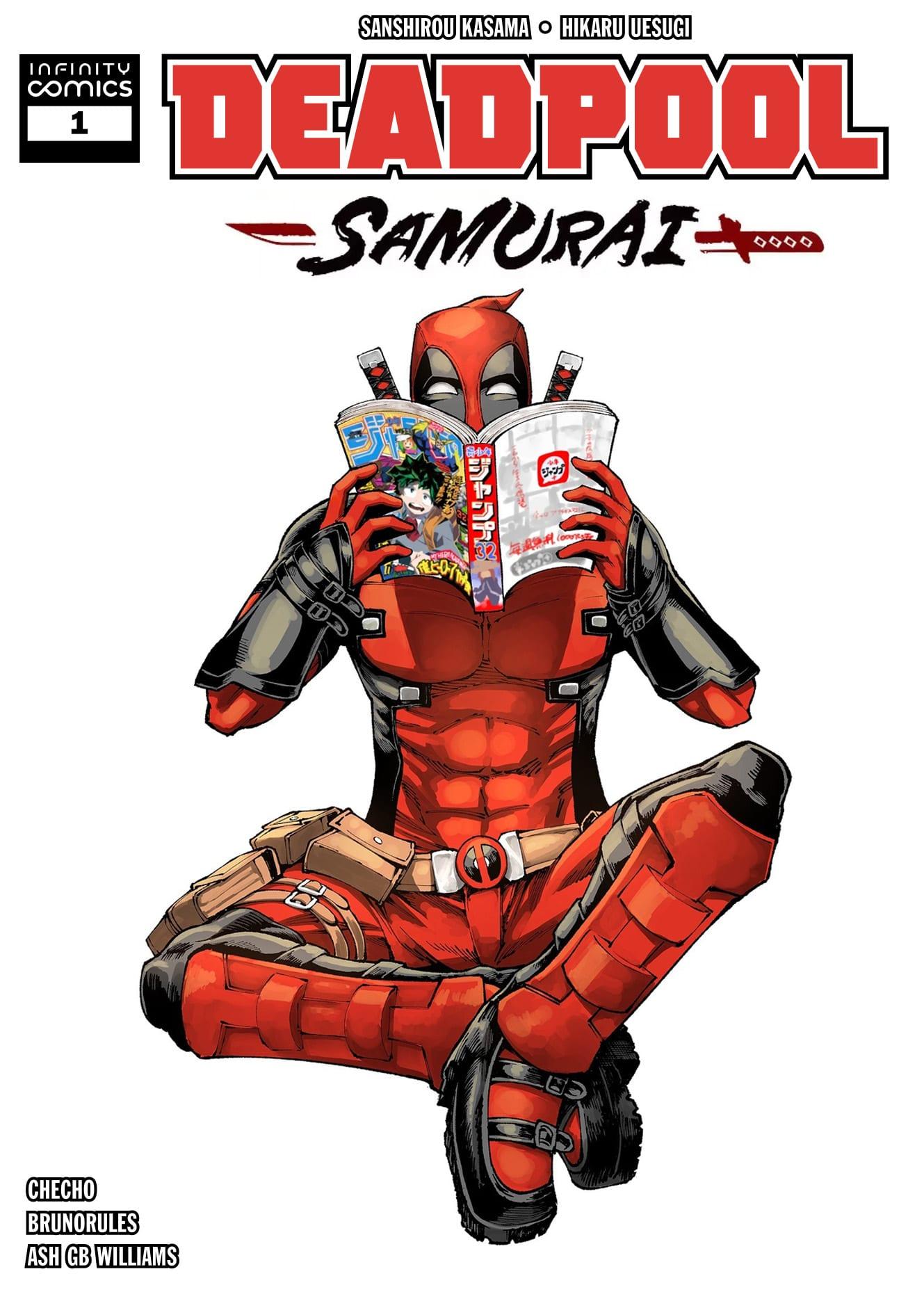 Manga completo Deadpool: Samurai