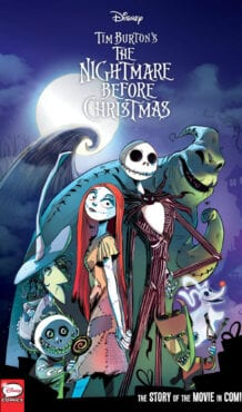 Comic completo Disney Tim Burton's The Nightmare Before Christmas