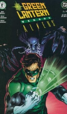 Comic completo Green Lantern vs Aliens