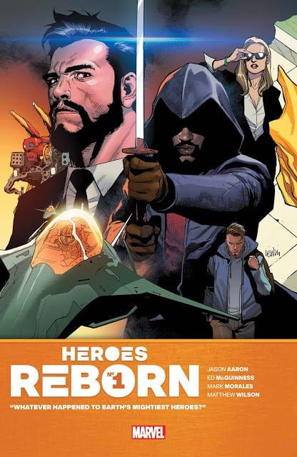 Comic completo Heroes Reborn