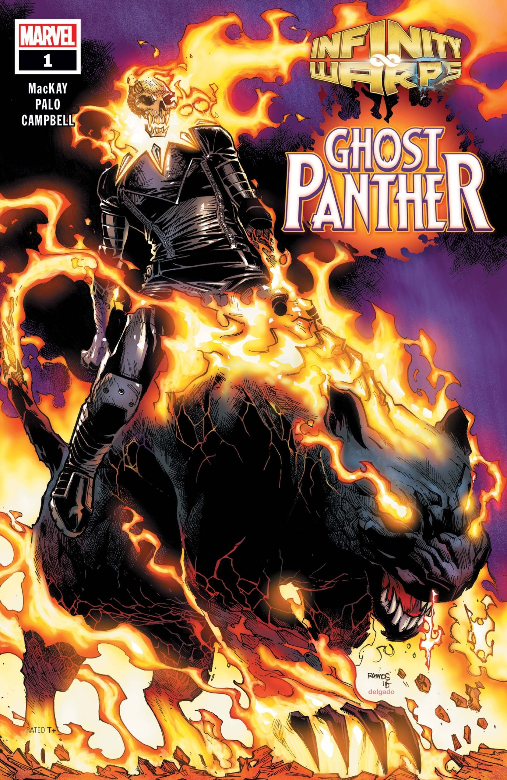 Comic completo Infinity Wars: Ghost Panther