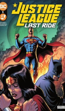 Comic completo Justice League Last Ride