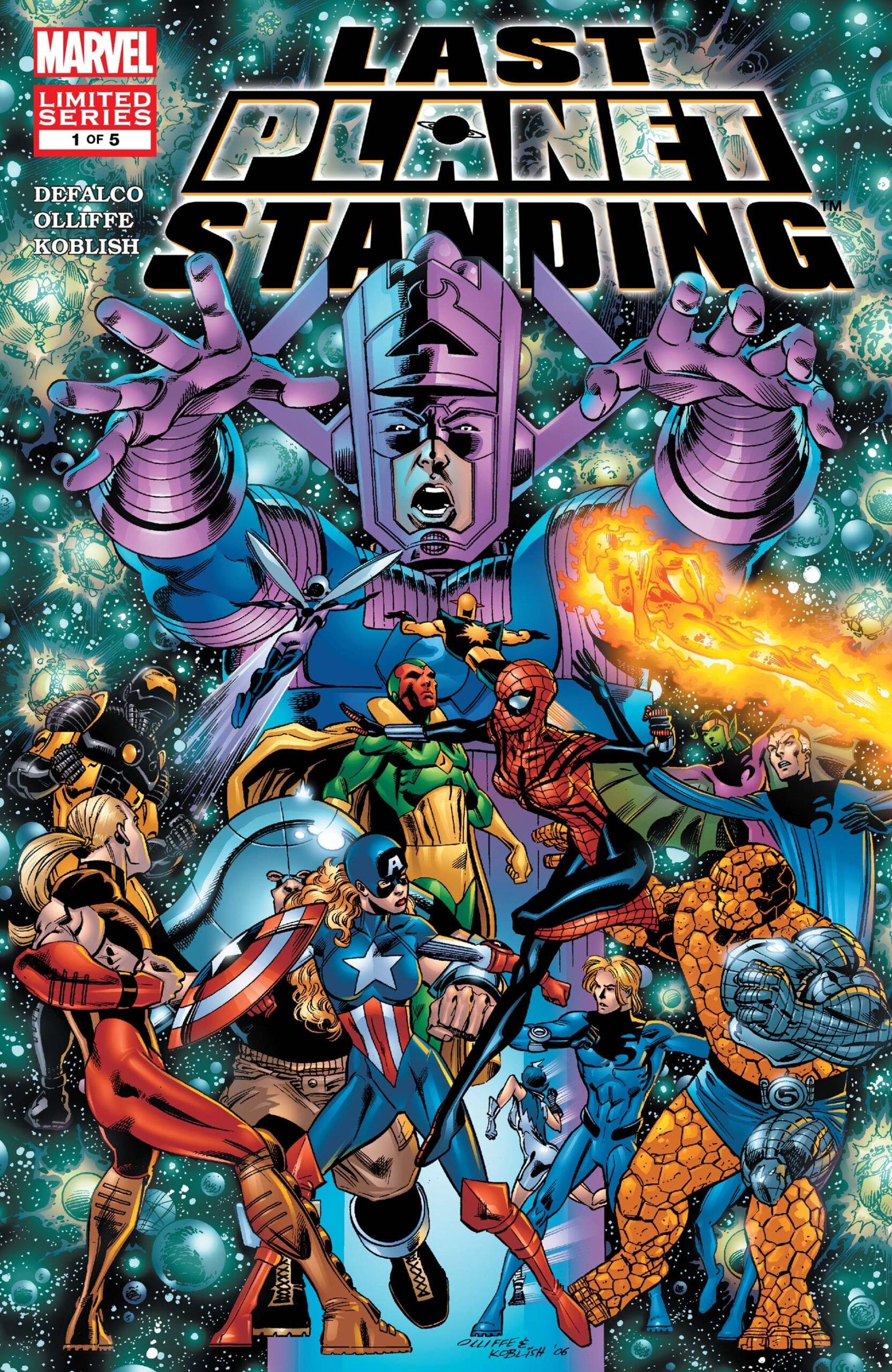 Comic completo Last Planet Standing