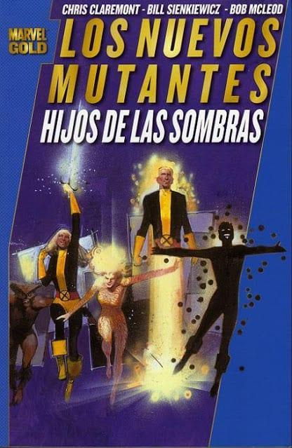Comic completo Marvel Gold: Los Nuevos Mutantes Hijos De Las Sombras