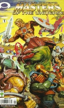 Comic completo Masters of the Universe
