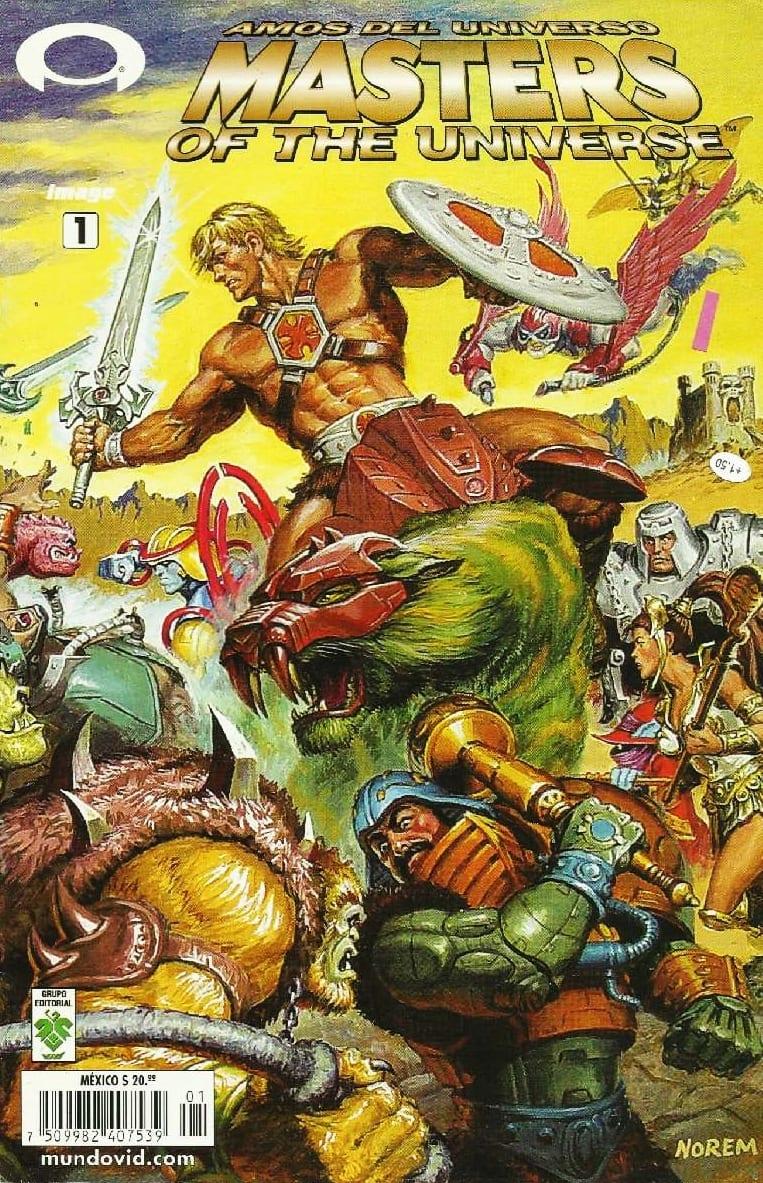 Descargar Masters of the Universe comic