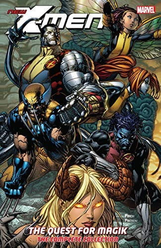 Comic completo New X-Men: The Quest For Magik
