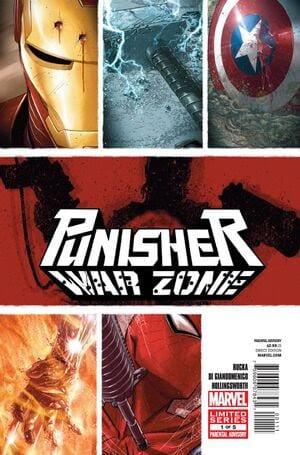 Comic completo Punisher: War Zone Volumen 3