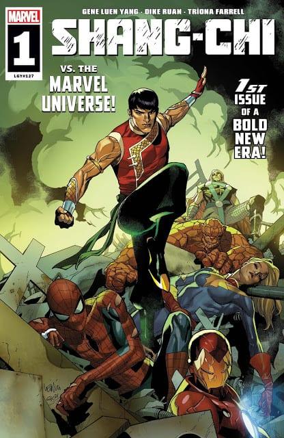 Comic completo Shang Schi Vs Marvel Universe