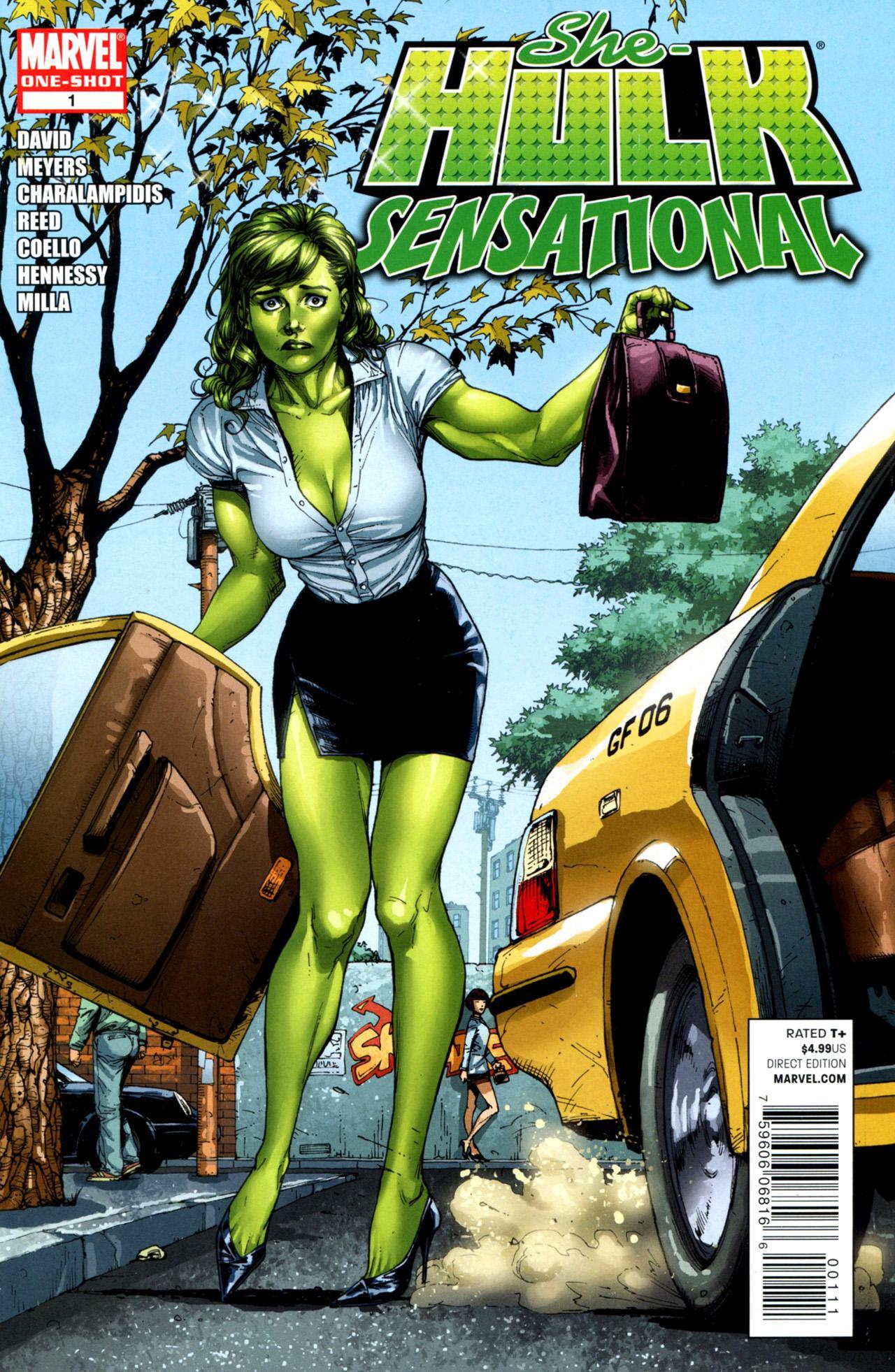Comic completo She-Hulk: Sensational
