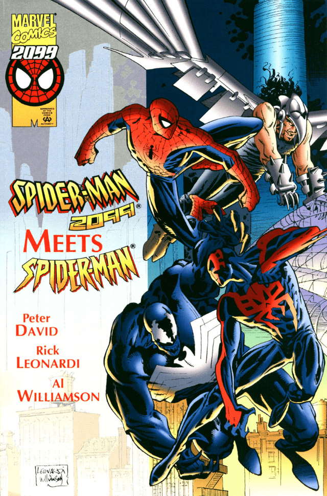 Comic completo Spider-Man 2099 Meets Spider-Man