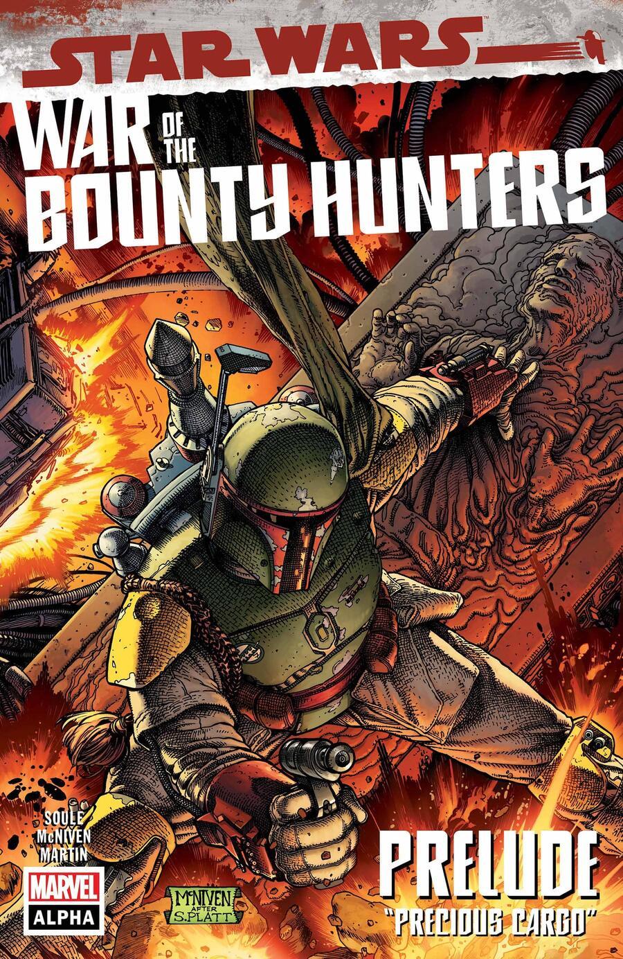 Comic completo Star Wars: War Of The Bounty Hunters Alpha