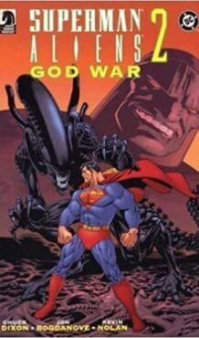 Comic completo Superman/Aliens II: God War
