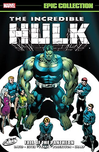 Comic completo The Incredible Hulk: The Fall of the Pantheon