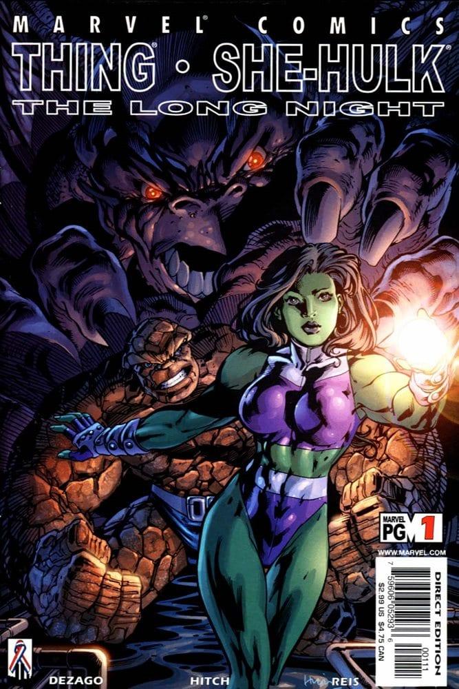 Comic completo Thing & She-Hulk: The Long Night