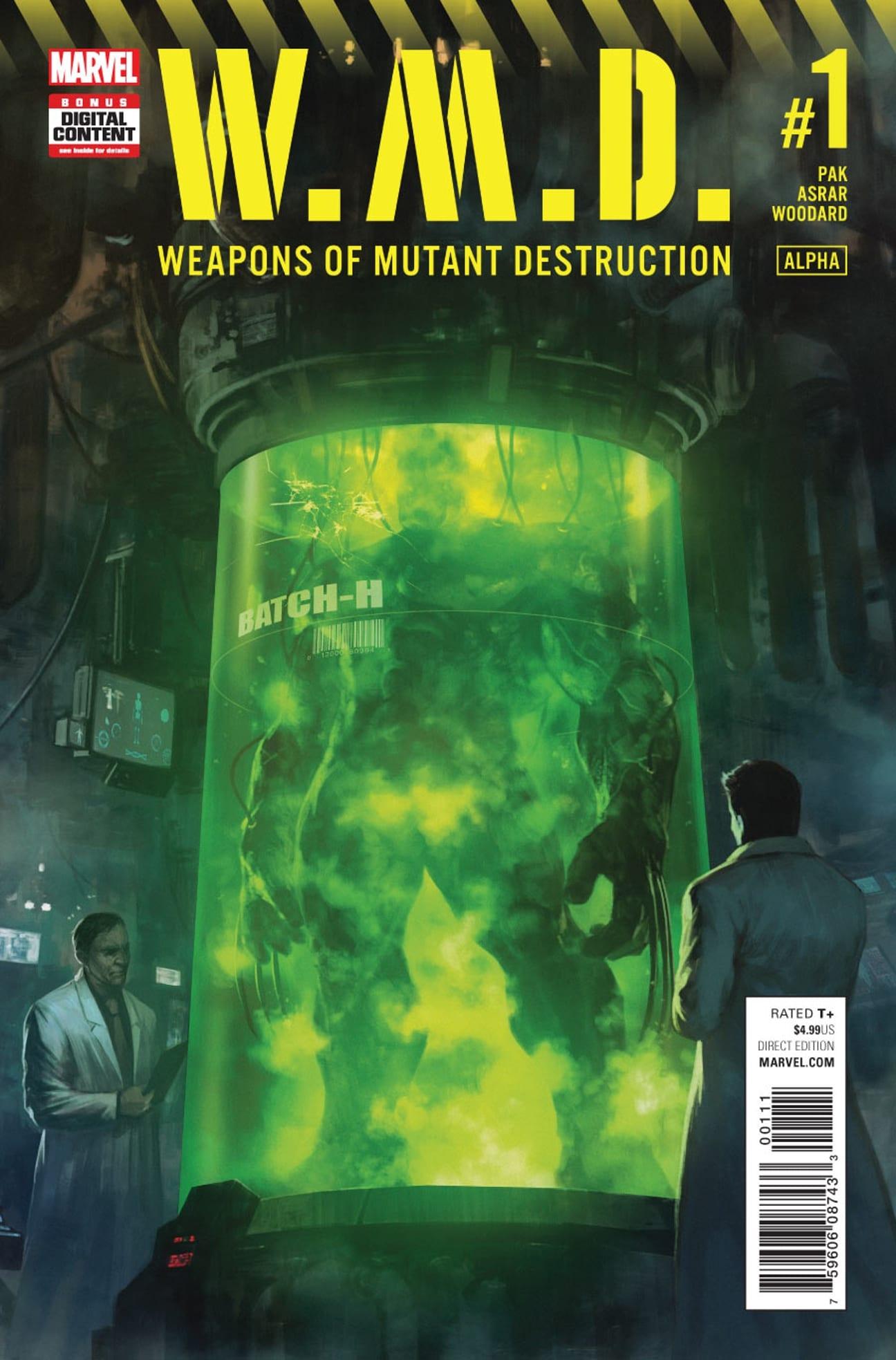 Comic completo W.M.D Weapon of Mutant Destruction: Alpha