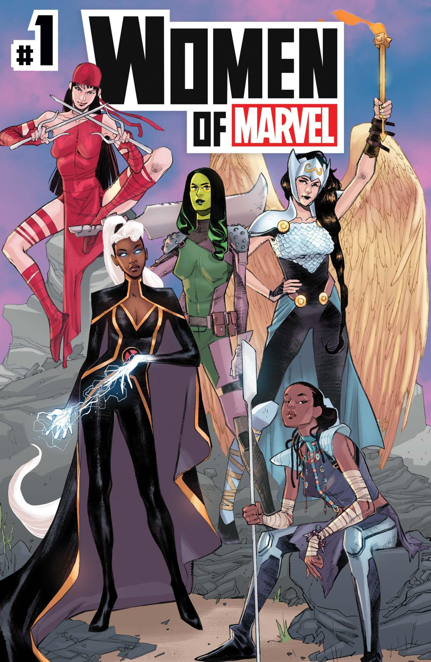 Comic completo Women of Marvel Volumen 2