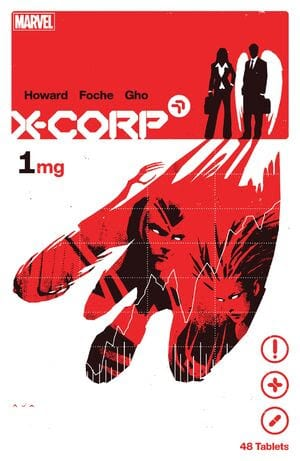 Comic completo X-Corp
