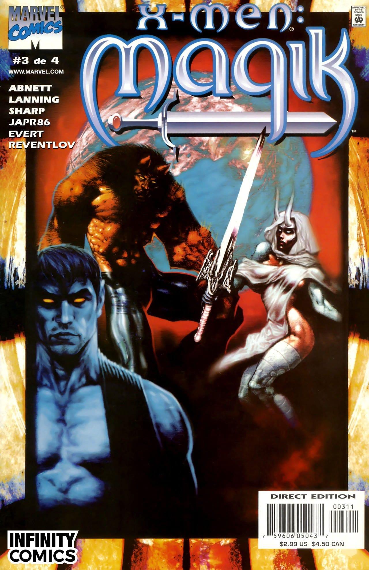 Comic completo X-Men: Magik volumen 2