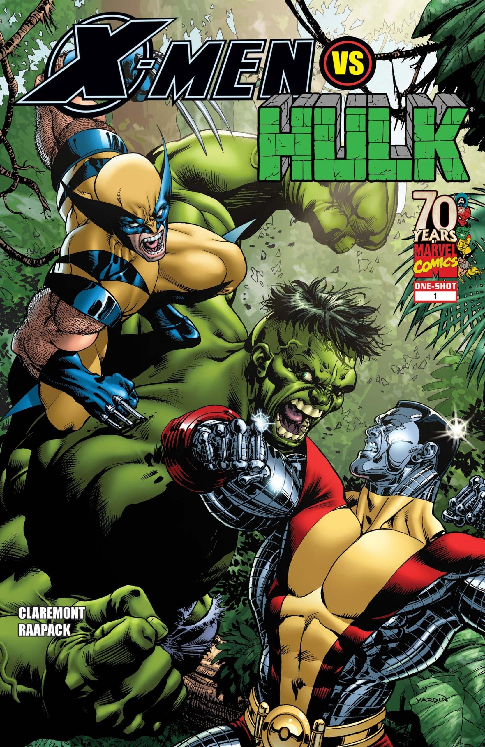 Comic completo X-Men vs. Hulk