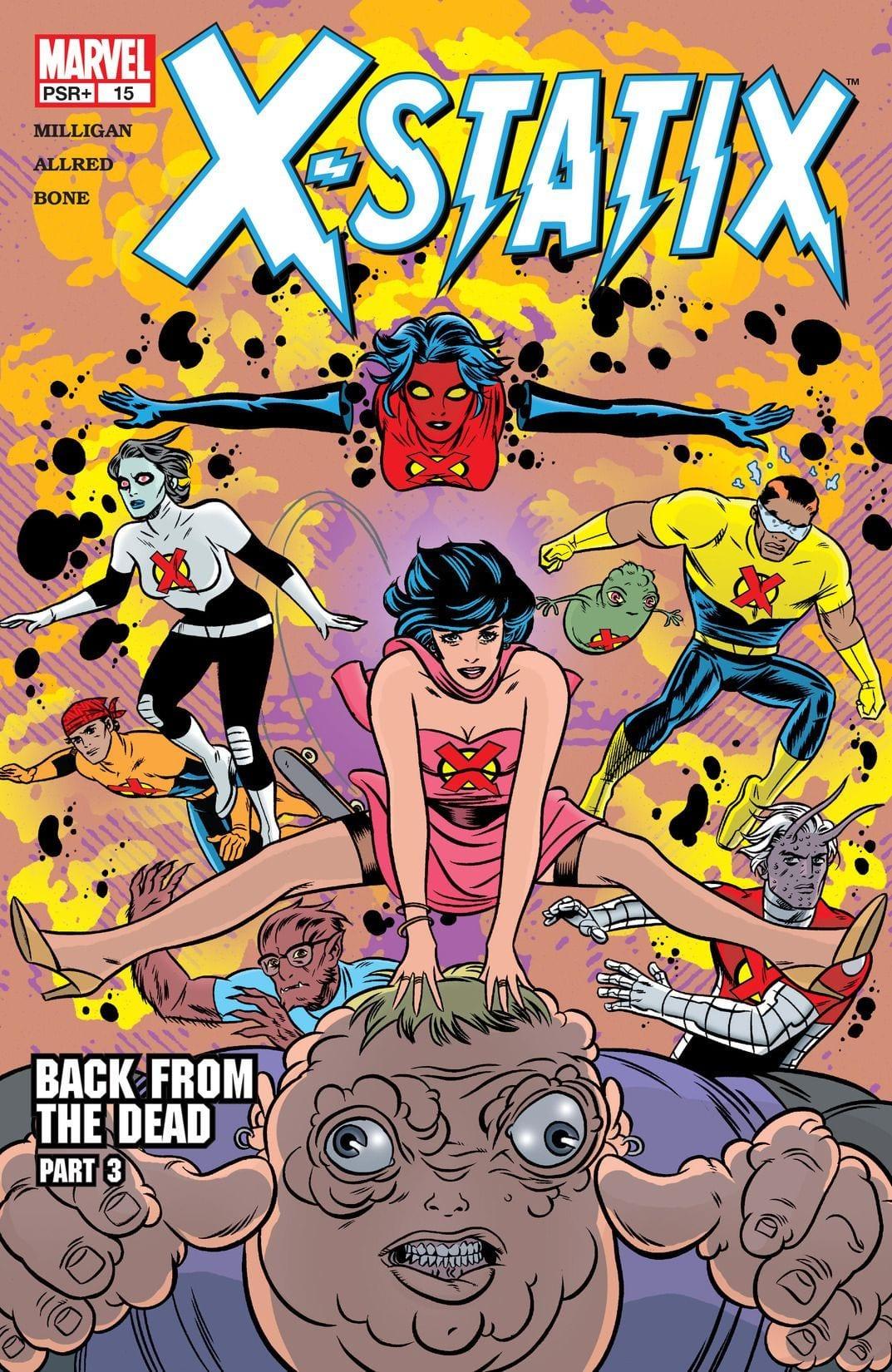 Comic completo X-Statix Volumen 1