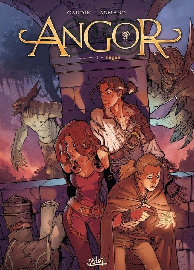 Comic completo Angor