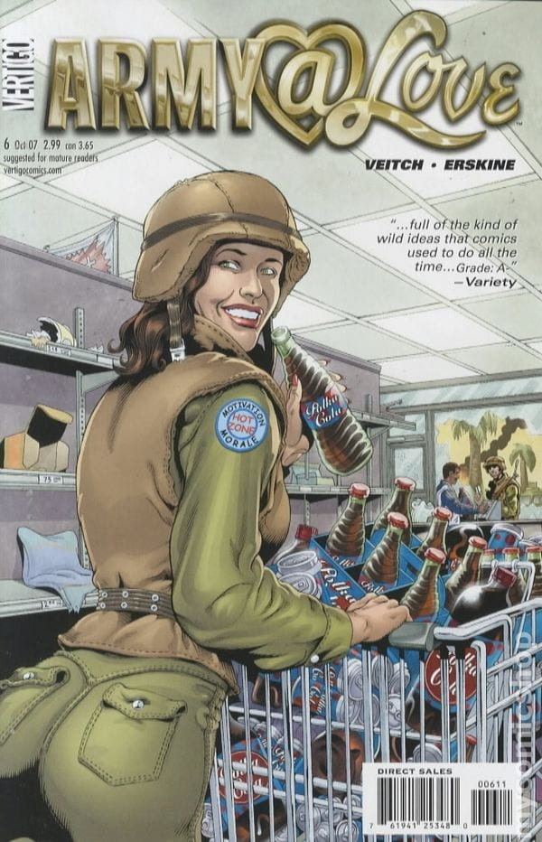 Comic completo Army @ Love
