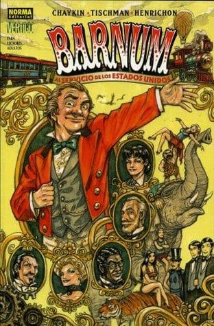 Comic completo Barnum!: In Secret Service to the USA