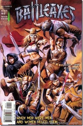 Comic completo Battleaxes