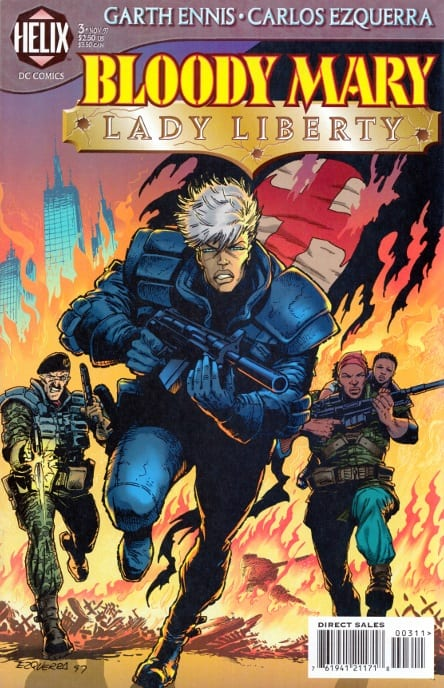 Comic completo Bloody Mary & Bloody Mary: Lady Liberty
