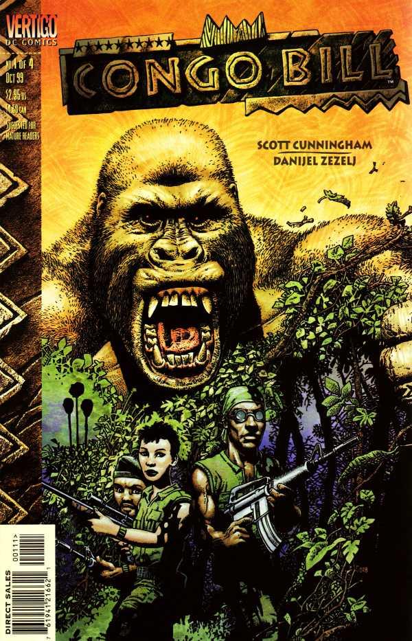 Comic completo Congo Bill